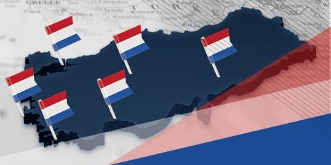 Hollanda Konsolosluklarının Görev Bölgeleri